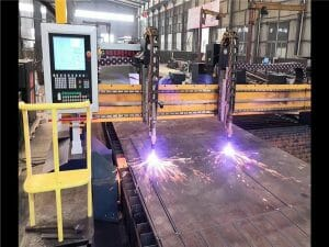cnc gantry api & plasma cutting machine